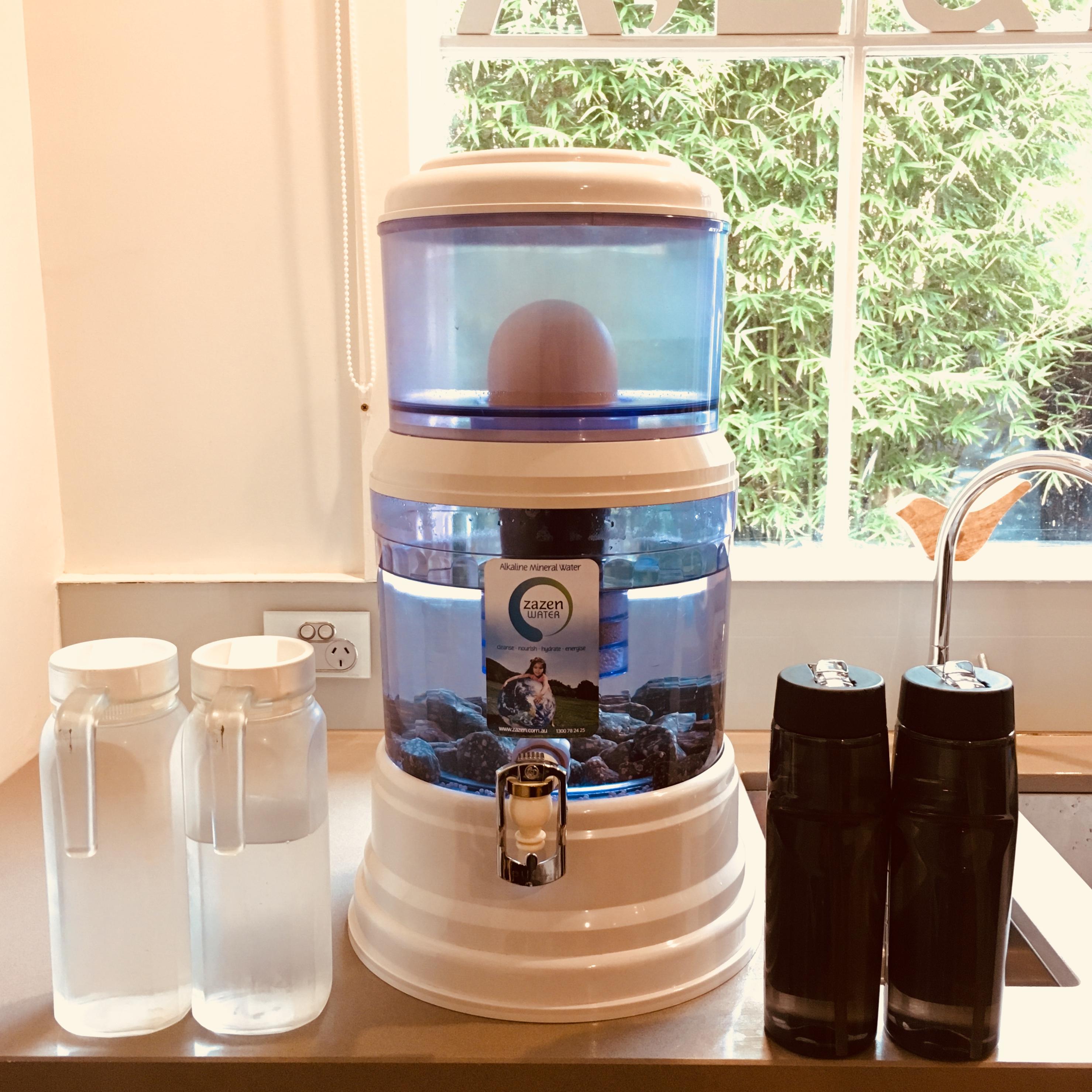 Benefits of drinking filtered, alkaline water